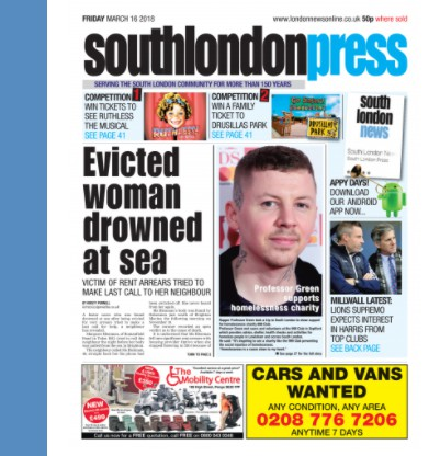 Prof Green South Lonon Cover